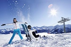 Sonnenskilauf März – Kitzbüheler Skigebiet