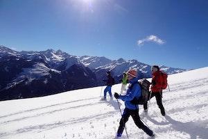 Schneeschuh-Aktivwochen  in den Kitzbüheler Alpen
